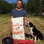 Norrlandsmästerskapet, vinnare Stefan och Beth
